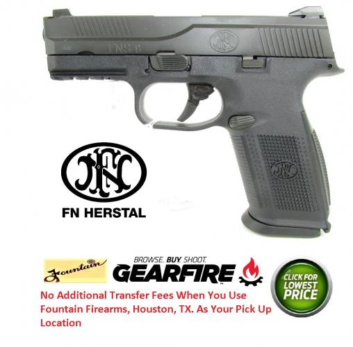 "FN FNSâ""¢-9  Manual Safety 9MM (3) 17 Rnd Mags No Manual Safety"