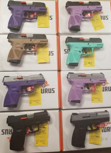 Taurus G2C and G2S models 9mm or 40 S&W