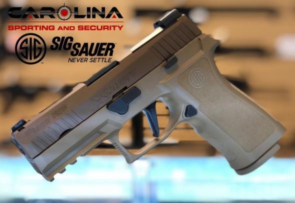 Sig Sauer, P320, X-Carry, Striker Fired, 9MM, 3 9