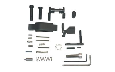 Armaspec, AR-15 Lower Parts Kit (Less Trigger Group and Grip), Fits AR  5 56/ 223, Black Finish, This Is NOT a Complete Lower Parts Kit