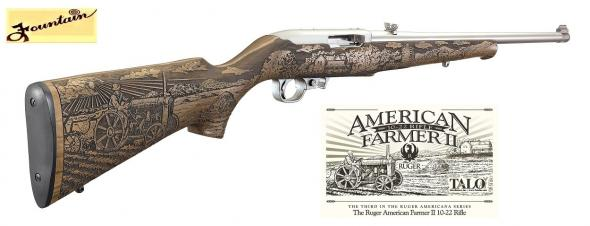 HOT 2019 FARMER II STAINLESS RUGER 10/22 - TALO EXCLUSIVE LIMITED EDITION