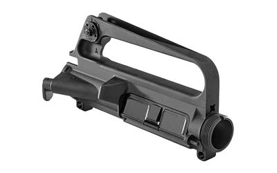 Luth-AR, A1 Assembled Upper Receiver, Black, Forged, A1 Rear Sight Base  Assembly, Ejection Port Cover Assembly, Teardrop Forward Assist Assembly,