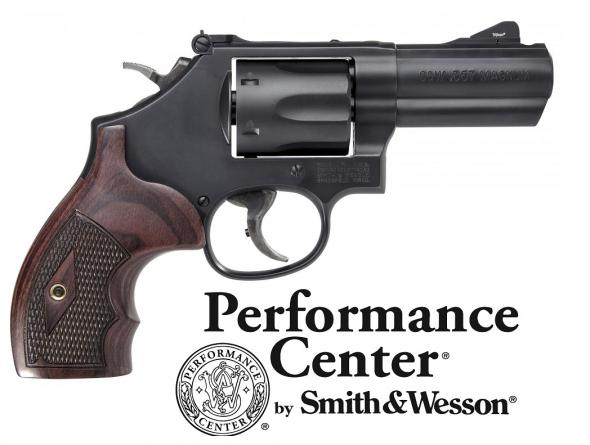 "Super Hot & Hard To Find!!! Smith & Wesson, 19 Carry Comp, Performance Center, Revolver, 357 Mag, 38 Special, 3"" Power Port Barrel, Carbon Steel Frame, Glass Bead Finish, Wood Grips, 6Rd, Night Sight Front, Adjustable Rear Sight"
