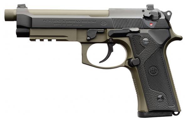 Beretta, M9A3-G, Double Action, 9MM, 5 2