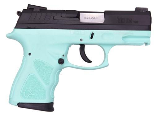 Taurus TH9 Compact 9MM Black & Cyan, 17+1 Rounds, 2 Mags