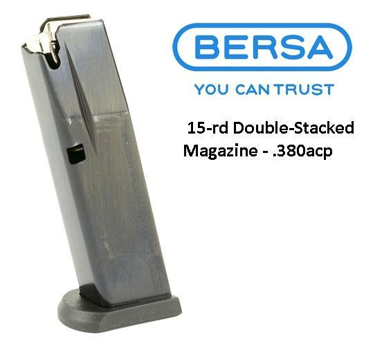 Hard To Find!!! Bersa THUN380PM15Thunder  380 Automatic Colt Pistol (ACP) 15 rd Black Finish