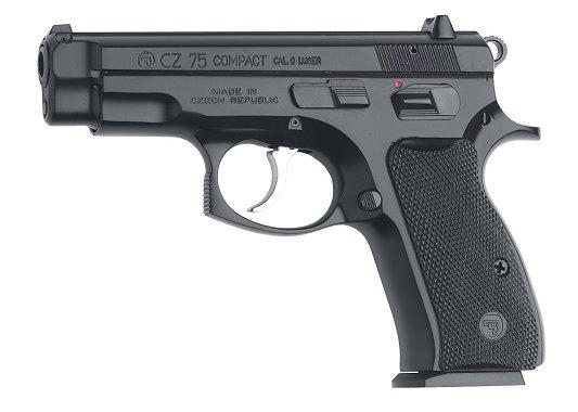 CZ 01190 CZ-75 Compact 9mm 3.9' 10+1 Black Synthetic Grip Black Finish 💲💲Cash $689.95💲💲