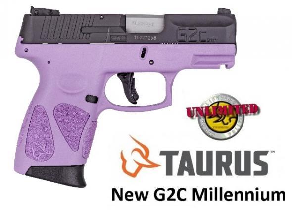 "Pocket Rocket!!! Taurus G2C ""Lavender"" 9MM , 3.2"" Barrel, Adjustable Sights, 12Rd, 2 Magazines 💲💲Cash $229.95💲💲"