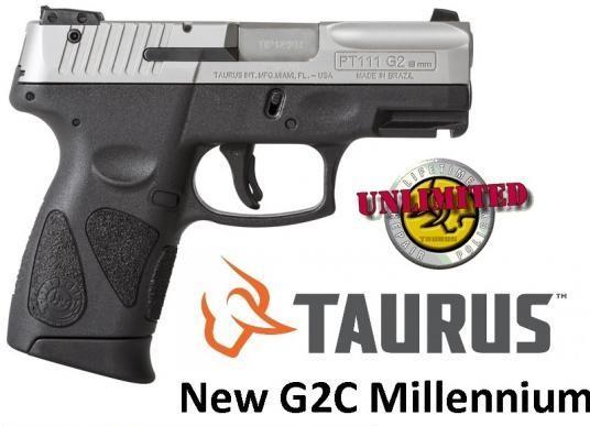 Taurus G2C Newest PT-111 Millennium 9mm 3.25 Inch Barrel Stainless Steel Finish Textured Finish 12 Round💲💲Cash $239.95💲💲