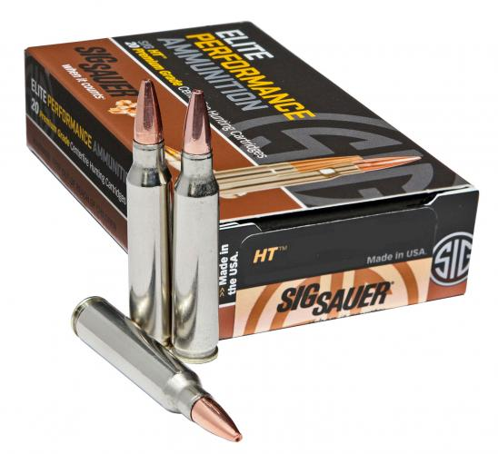Sig Sauer E243H120 Elite Hunting 243 Winchester 80 GR 20 Rounds Per Box