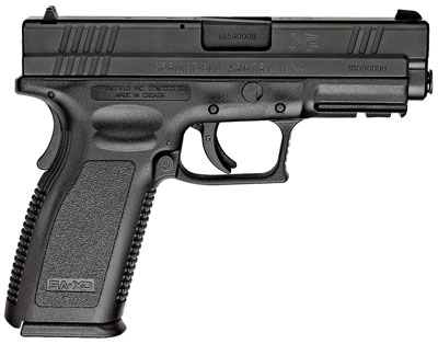 "Springfield Armory XD Service 9mm 4"" 16+1 Polymer Grip Black Finish"