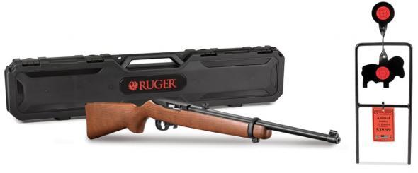 Ruger, 10/22 Carbine, Semi-Automatic Rifle, 22 LR, 18 5
