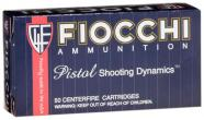 Fiocchi Pistol Shooting 38 Special Full Metal Jacket 130 GR 50 Box