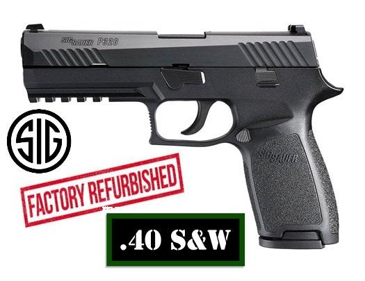 Almost Half Off MSRP!!! Sig Sauer P320 Full Size FACTORY REFURBISHED 40 S&W