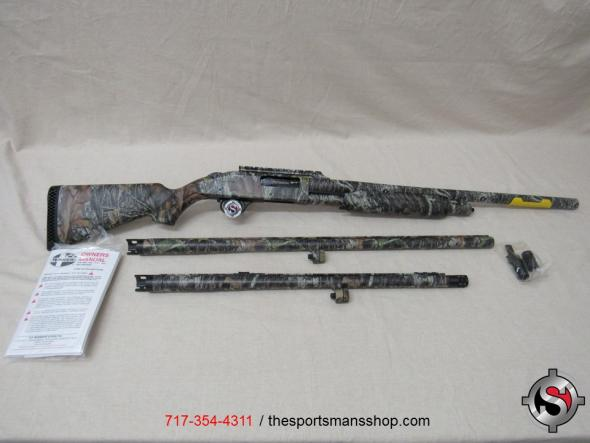 Mossberg 535 Camo 12 gauge 3 barrel combo new