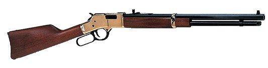 "Henry H006 Big Boy Lever Rifles Lever 44 Rem Mag 20"" 10+1 Walnut Stk Blue"
