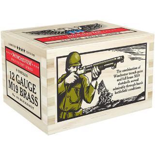 """Winchester Ammunition, WWII Victory Series, 12 Gauge, 2.75"""", 00 Buckshot, 5 Round Box"""