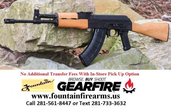 "Century AK-47 Type 762X39, 16.5"" Barrel, Black Finish, Wood Stock, 30 Round 1 Magazine 💲💲CASH $649.95💲💲"