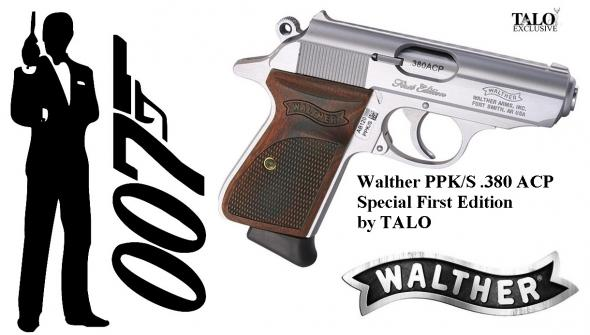 2020 FIRST EDITION!!! Walther / TALO PPK/S 380 ACP - 007's Firearm of Choice 💲💲Cash $739.95💲💲