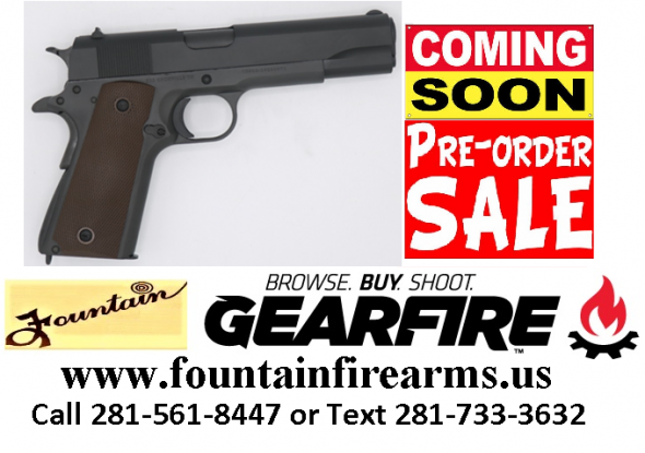 PO Full Deposit Only: SDS 1911A1 45ACP US ARMY 5 FULL SIZE WWII MODEL 💲💲Cash $349.95💲💲