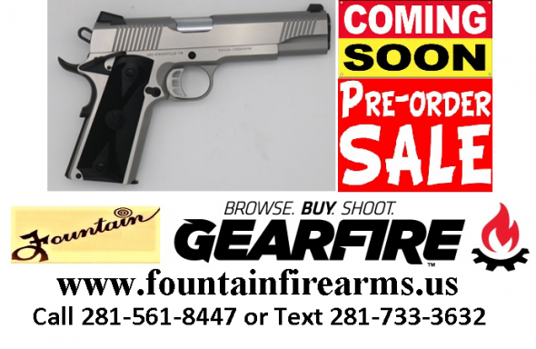 SDS 1911 45ACP STAINLESS STEEL  💲💲Cash $449.95💲💲