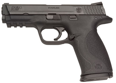 S&W M&P 9mm 4.25 Inch Barrel Black Melonite Finish Without Thumb Safety 17 Round