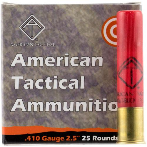 "American Tactical Imports .410 Bore Ammunition 25 Rounds 2-1/2"" Lead Rifled Slug 1410fps 💲💲Cash $14.45💲💲"