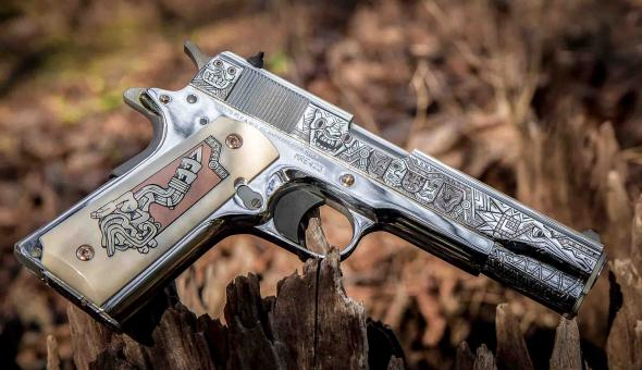 Super Rare 1 of 429!!! Colt TALO (AZTEC Series) Rose Gold Mexican Heritage 38 Super  💲💲Cash $3499.95💲💲