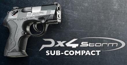 """Looks Like Star Wars Mini-Blaster!!! Beretta PX4 Sub Compact Semi Automatic Pistol .40 S&W 3"""" Barrel 10 Rounds Polymer Frame Black Finish JXS4F20 💲💲Cash $499.95💲💲"""