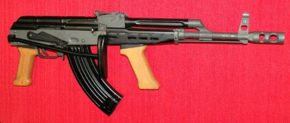 Super Rare!!! CIA Hungarian Style AMD-65 Folder 7.62x39 (AK-47 Stype) with Wood Stocks