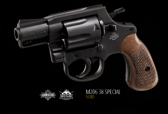 Great Value!!! Armscor Model 206 .38 Special 2 Inch Barrel Blue Finish Six Round Capacity 💲💲Cash $239.95💲💲
