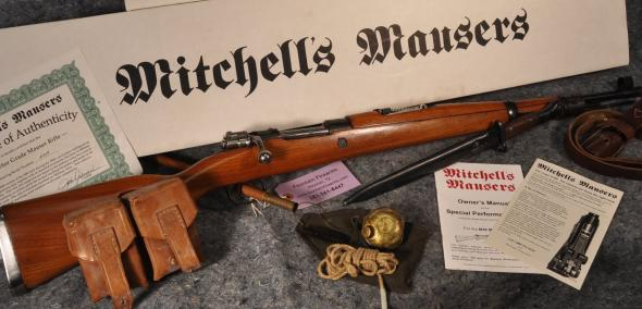 Hand Selected Minty!!! MITCHELL K-98 TYPE 8MM MAUSERS  Collector Select Grade M48  Rifle, Curved Bolt Handle 💲💲Cash $849.95💲💲
