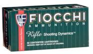 Fiocchi Rifle Shooting 223 Remington FMJ 55 GR 50Box