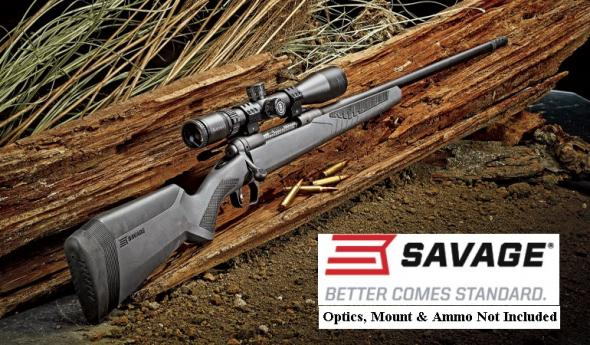 "Savage, 110 Long Range Hunter, 338 Lupua, 26"" Barrel, Black Finish 💲💲1089.95💲💲"