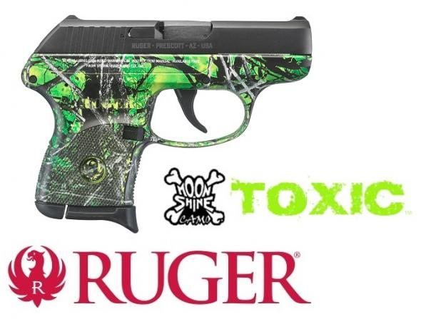 MOONSHINE TOXIC!!! RUGER LCP MOONSHINE TOXIC CAMO 380 ACP💲💲Cash $254.95💲💲