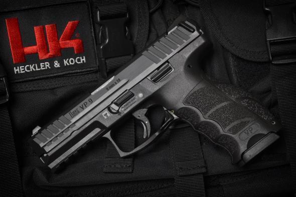 "Germany Tech!!! HK VP9 9MM, 4.09"" Barrel, Polymer Frame, Black Finish, 3 Dot Sights, 15Rd, 2 Magazines, Fired Case💲💲Cash $559.95💲💲"