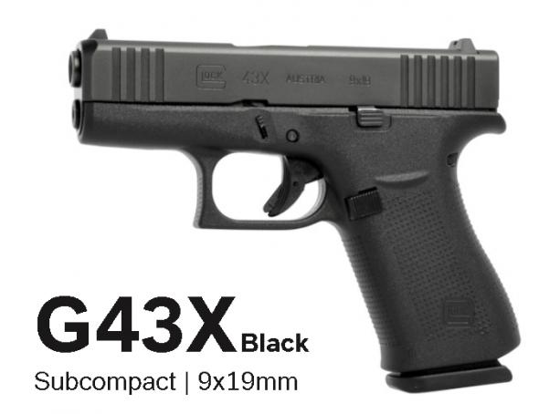 Super Hot 2020!!!! Glock PX4350201 43X Pistol 9mm 3.41in 10rd Black💲💲Cash $449.95💲💲