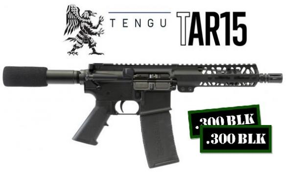 "MEGA HOT 2020!!! Talon Armament, TAR15 AR 7.5"" Pistol 300 AAC Blackout 7.5"" 30+1 Black Buffer Tube Synthetic Black Hardcoat Anodized Aluminum Receiver 💲💲Cash $619.95💲💲"