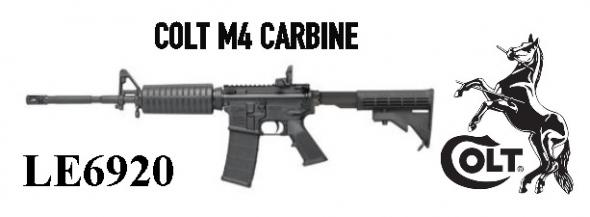 "Super Desirable Colt M4 LE6920, AR-15 Type, 223 Rem/556NATO, 16.1""M4 Profile Barrel, Flash Hider, Matte Black Finish, 4 Position Collapsible Stock, Magpul Backup Flip Sight, 30Rd, 1 Magazine, Does Not Have LE Rollmarks 💲💲$1895.00💲💲"