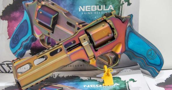 "Super Hot 2020!!! Chiappa Rhino Nebula 357 Mag, 6"" Barrel, 6 Shot, Mix Color PVD Finish 💲💲Cash $1299.95💲💲"