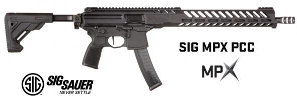 "Sig Sauer, MPX Carbine 9MM, 16"" Barrel, Black, Collapsible Stock, 30Rd, KeyMod Handguard, Ambidextrous Charging Handle 💲💲Cash $1459.95💲💲"