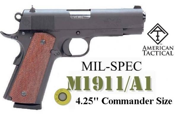 "Commander Size!!! ATI American Tactical FX45 GI 1911 .45ACP 4.25"" BBL Colt Commander 7 Round 💲💲Cash $389.95💲💲"