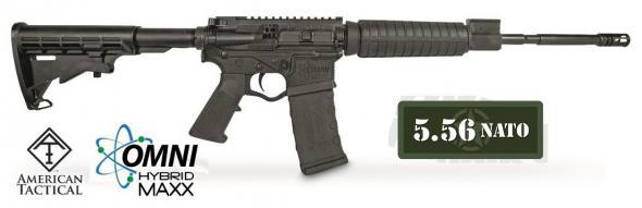 """ATI GOMX556P3 Omni Hybrid MAXX P3 Semi-Automatic 223 Remington/5.56 NATO 16"""" 30+1 Adjustable Black Stock Black 💲💲Cash $399.95💲💲"""