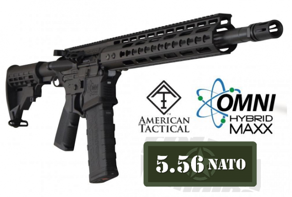 """ATI G15MS556MMOMNI HYBRID MAXX P3 MILSPORT 223 REMINGTON/5.56 NATO 16"""" BBL W 15""""KM NANO KIT RAIL 💲💲CASH $499.95💲💲"""