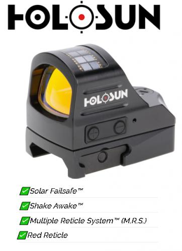 Awesome Value!!! Holosun Open Reflex 32mmx24mm 3 Reticle Qd 32moa Circle 2moa 💲💲Cash $249.95💲💲