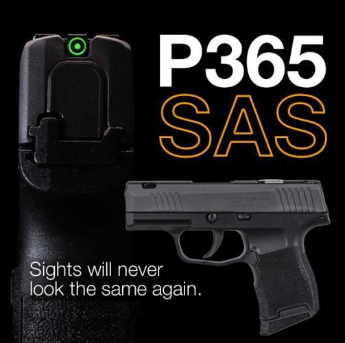 MEGA HOT 2020!!! Sig P365 SAS 9mm Anti-Snag Carry 💲💲Cash $629.95💲💲