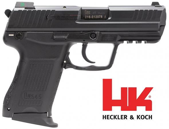 "Don't Compromise!!! Heckler & Koch HK45C Compact V1 DA/SA 45ACP 3.9"" 8+1 Syn Grip Blk 💲💲Cash $799.95💲💲"