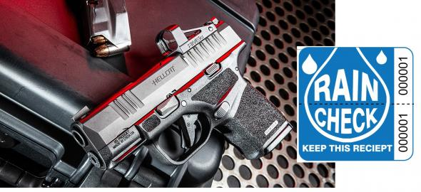 """Rain Check Only: SPRINGFIELD HELLCAT OSP 9MM SUPER COMPACT, 3"""" BBL & 13 RDS, TRITIUM FRONT SIGHT - OPS Optic Ready Model HC9319BOSP - Please Call Me When Available"""