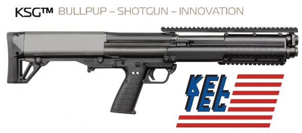 """Super Priced!!! Kel-Tec KSG KSG Pump 12 ga 18.5"""" 2.75"""" Black Synthetic Black Finish 💲💲Cash $719.95💲💲"""