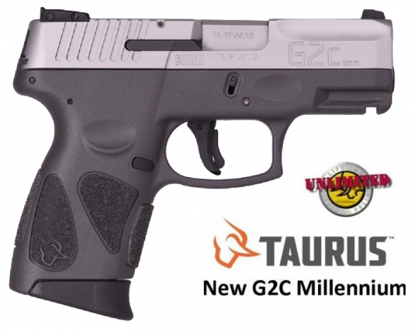 """Taurus, G2C, Double Action Only, 9MM, 3.2"""" Barrel, 12+1 Round, Gray Polymer Frame, 💲💲Cash $239.95💲💲"""